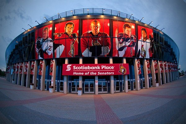 The Mecca.  The Bank.  Go Sens Go.