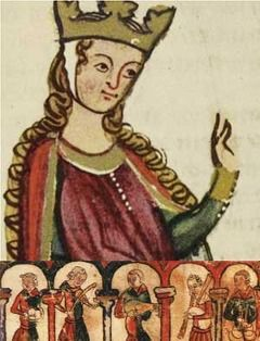 Eleanor of Aquitaine  1122-1204  The queen consort of both Louis VII of France and Henry II of England, Eleanor of Aquitaine was the mother of Richard the Lion-Heart and John of England.  She was perhaps the most powerful woman in 12th century Europe.