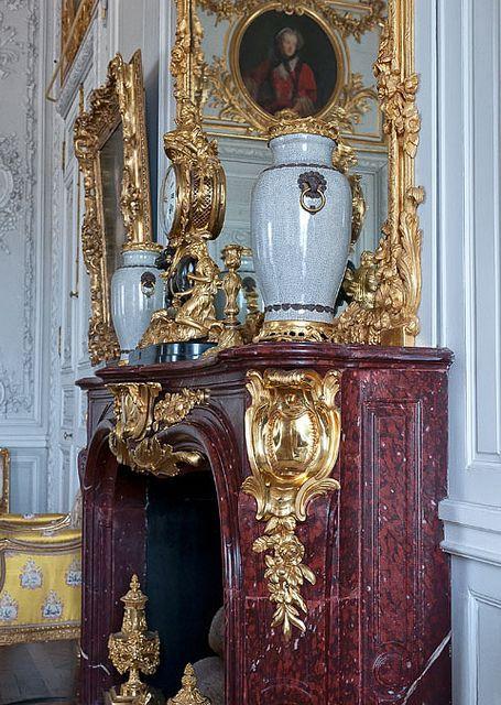 Dans le grand cabinet de Madame Victoire, Versailles