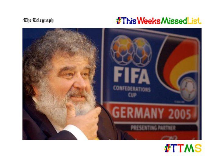 ttms.blog/kBOJOi  #fifa corruption #whistleblower #chuckblazer dies aged 72  #ttms #twml #sport #football #blatter #worldcup #soccer