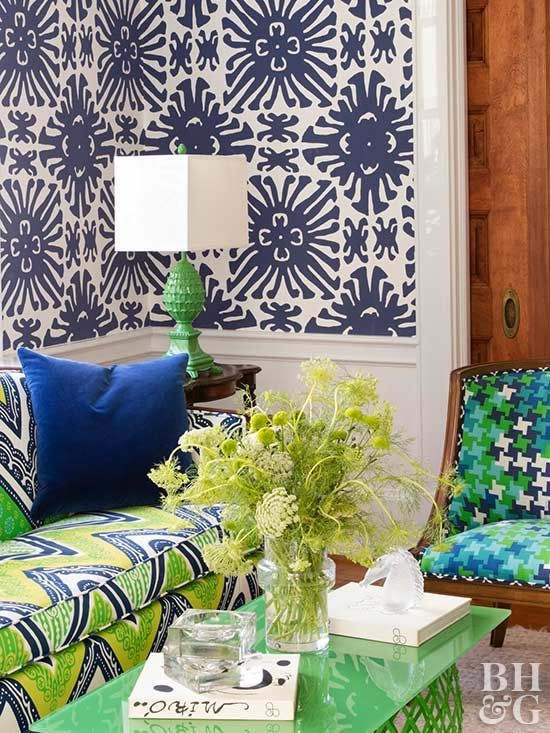 Decorate with Bold Tropical Colors