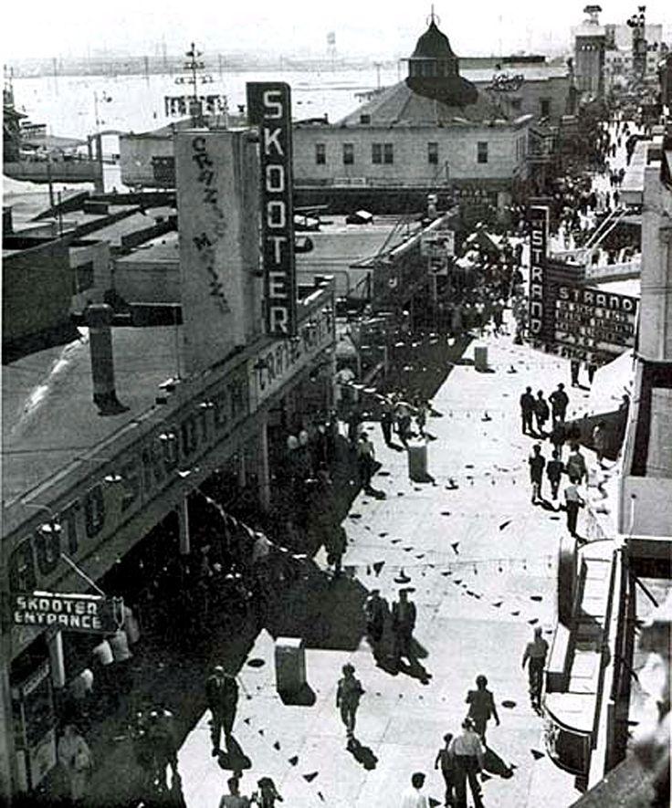 Old Long Beach Pike east.