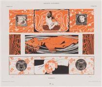 Head strips - Koloman Moser