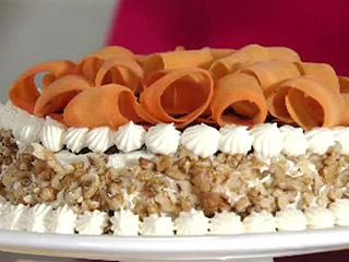 Recetas   Pastel de zanahoria con cubierta