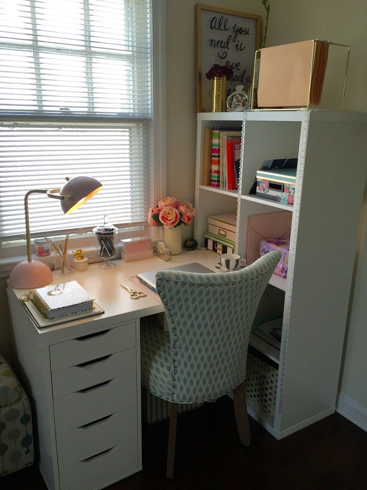 Home office, day designer, ikea hack, home goods finds in
