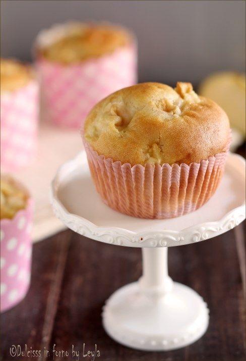 Muffin alle mele morbidosi #muffin #mele #colazione