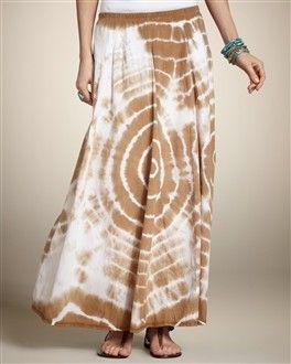 Tie-Dye Terri Maxi Skirt