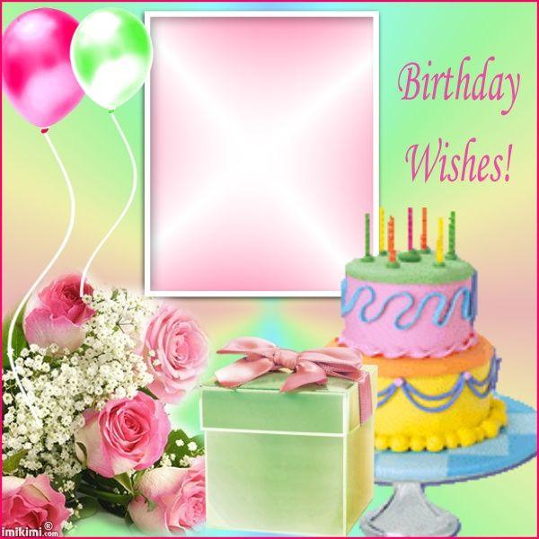 235 best Birthday Greetings images on Pinterest Beverage - birthday wish template