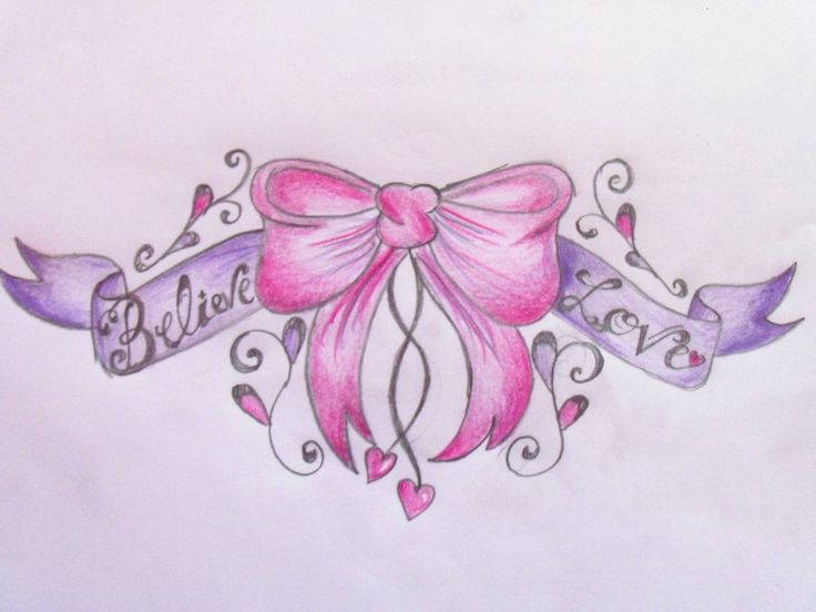 cute cupcake designs for a man | Bow Lower Back Tattoo Design By Cupcake Lakai On Deviantart