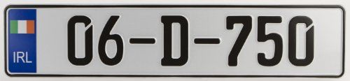 european license plate ireland