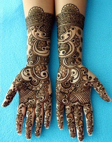 Marwari Mehndi Patterns