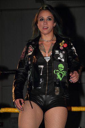 Christina Von Eerie  CVE  Toxxin  Christina Von Eerie  Christina von eerie Female wrestlers