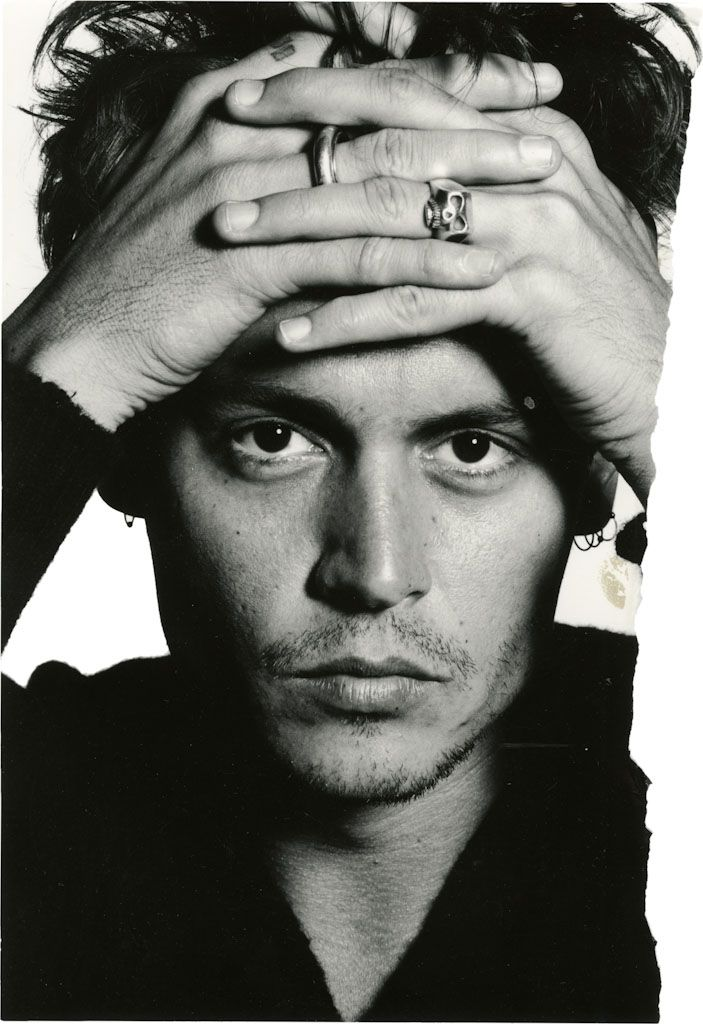 Johnny Depp by David Bailey 1995