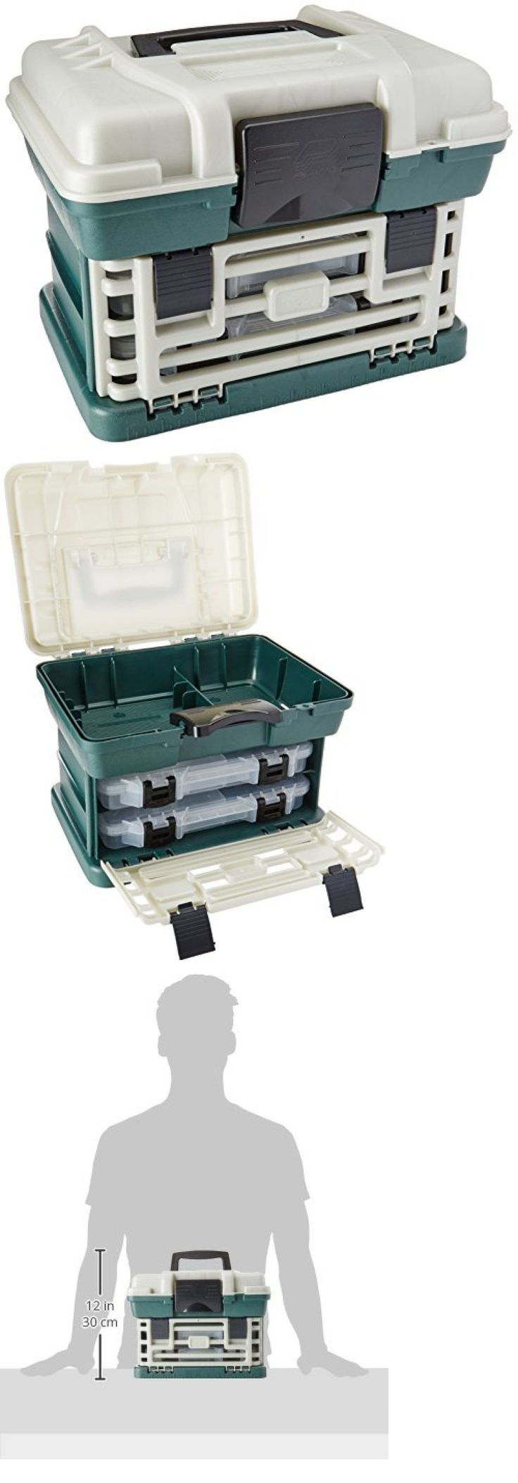 Tackle Boxes and Bags 22696: Fishing Tackle Box Lures Storage Tray Bait Case Drawer Lures Hooks Organizer -> BUY IT NOW ONLY: $31.27 on eBay!