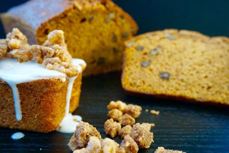 Bakelyst.no: Lag en fantastisk deilig krydderbrød med karameliserte valnøtter.