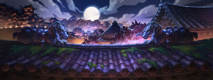 The island of the moon - Mobile Game Concept Art 3 by mio2014.deviantart.com on @DeviantArt