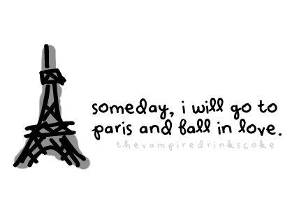 Love in Fall in Paris