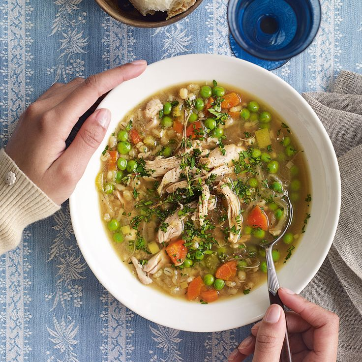 Winter chicken soup - 233 per serve