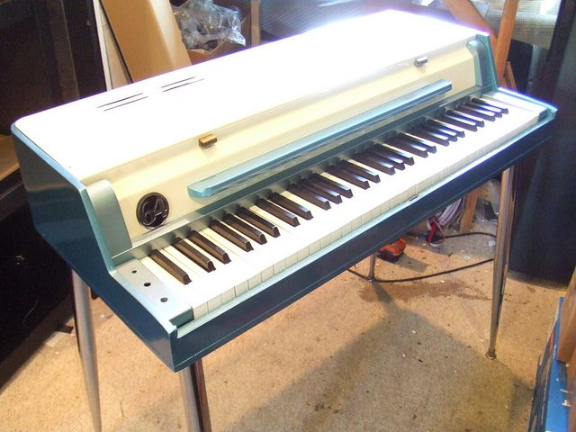 Wurlitzer 120 Electric Piano Custom by Vintage Vibe, via Flickr