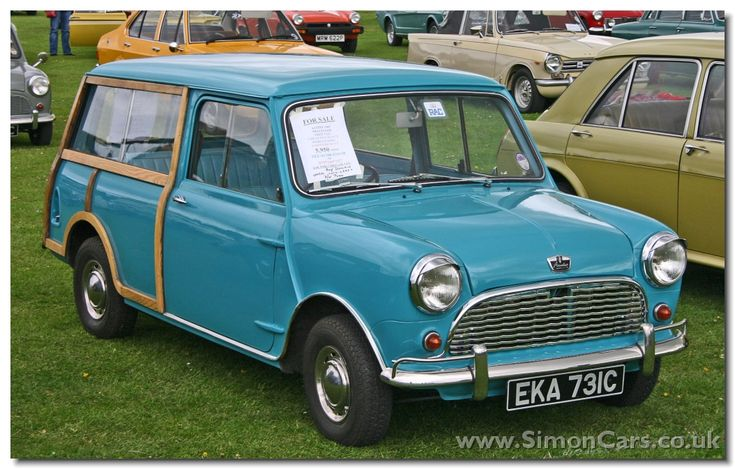 Austin Mini Countryman front - Austin Mini Countryman.  Based on the Mini Van body which had a 4inch longer wheelbase and was 10inches longer overall.