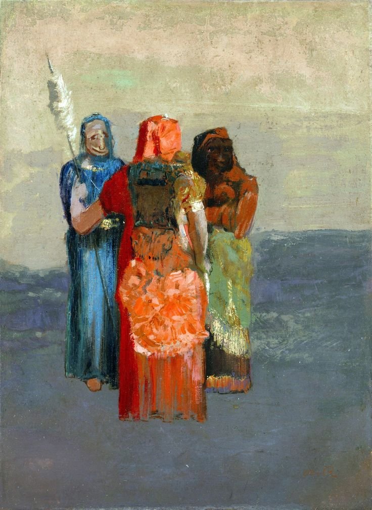 The Three Fates ~ Odilon Redon