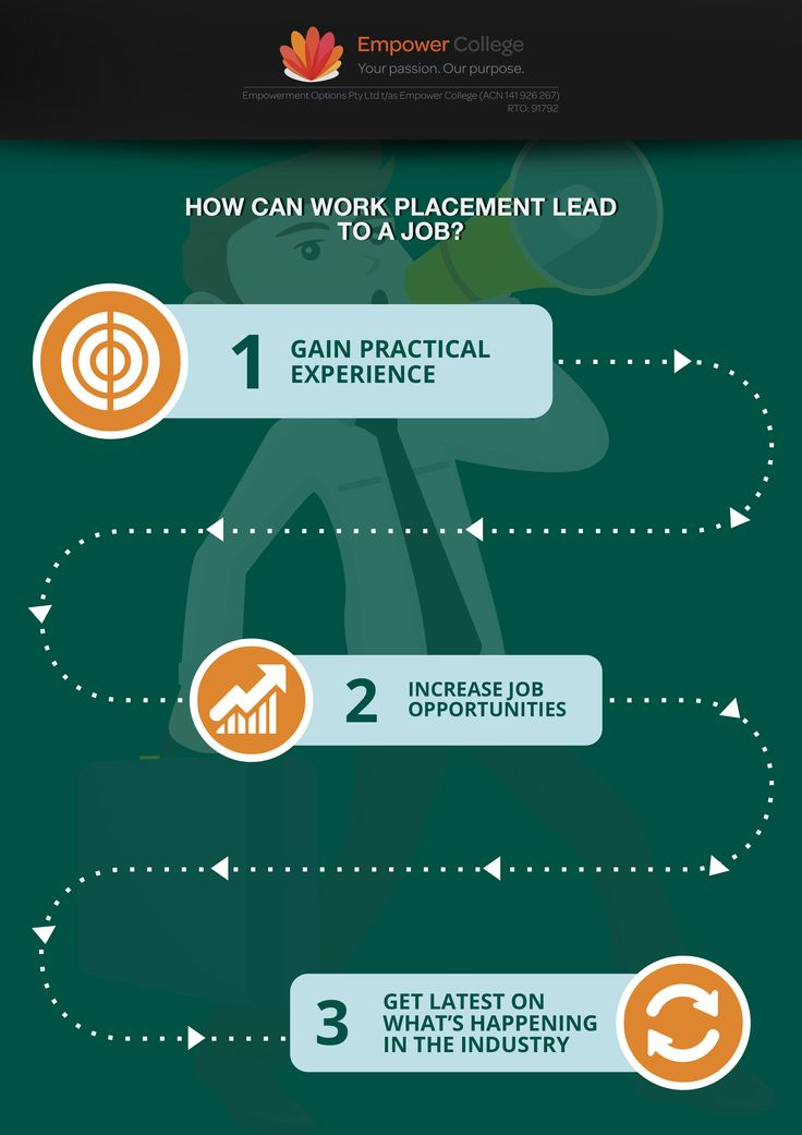 How a Work Placement can lead to a job #workplacement #job #career #student #tip
