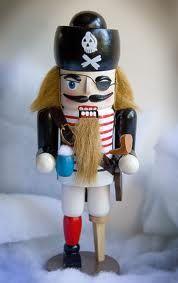 Pirate nutcracker