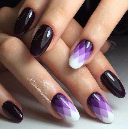 29 Trendy Nails Oval Winter Haarfarben – NAIL$. ✨