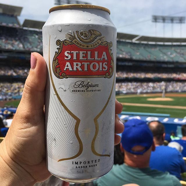 Beer and Baseball at the Los Angeles Dodgers game