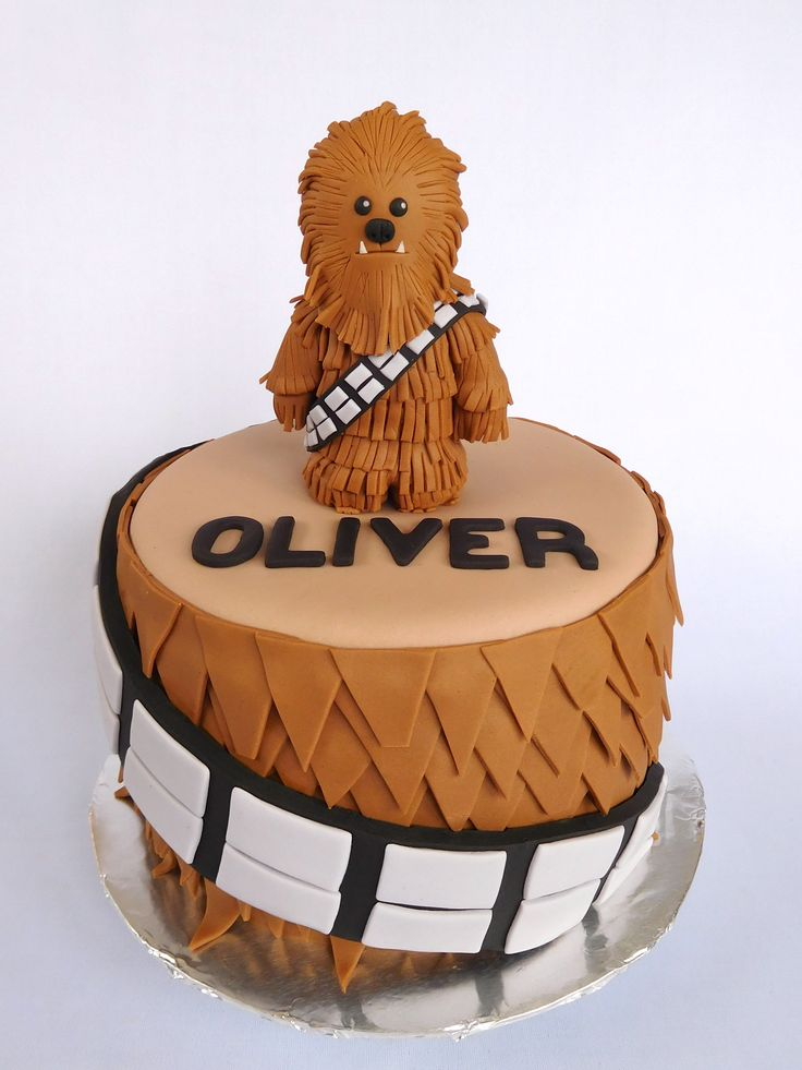 Chewbacca Cake, Star Wars Cake