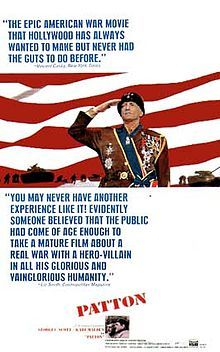 Patton - A brilliant, smart, honest, un-biased film, about one of the greatest American generals; Scott was born for this role. (8.75/10)