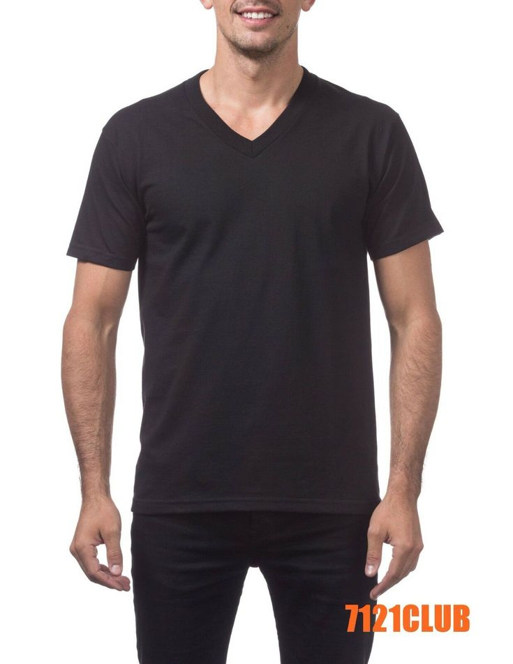 Next Level Apparel 6440 Mens Premium Fitted Sueded V-Neck Tee 2 Pack