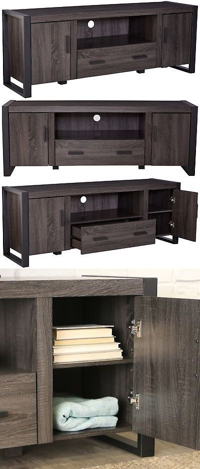 Entertainment Units Tv Stands 20488 We Furniture 60 Industrial Wood