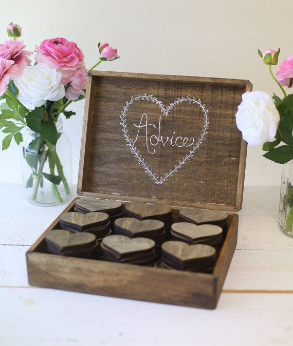 Personalized Rustic Wedding Guest Book Alternative by braggingbags
