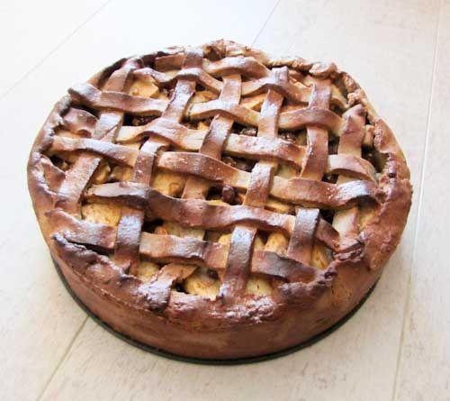 Hollandse appeltaart |  glutenvrij en suikervrij en zuivelvrij