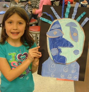 Art with Mrs. Seitz: Picasso Blue Portraits