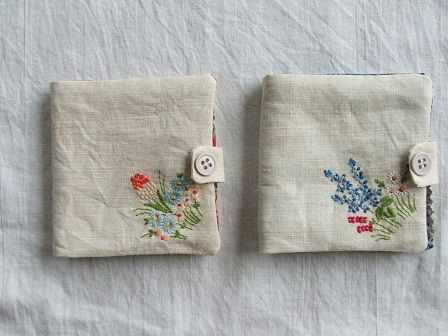 how to clean old embroidery