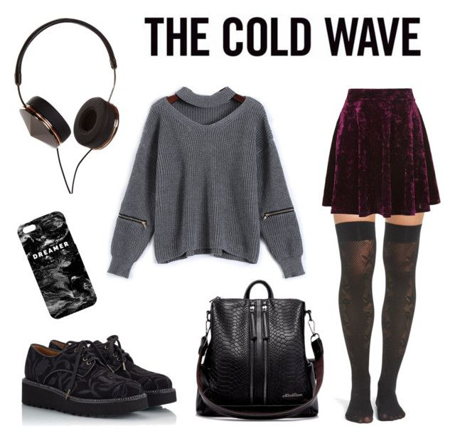 """The Cold Wave"" by sini-harju on Polyvore featuring Mr. Gugu & Miss Go, Frends, OROBLU, Pons Quintana and Topshop"