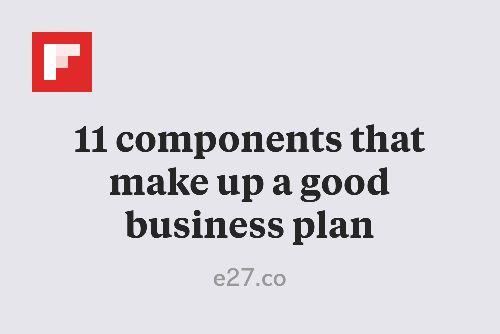 Making a good business plan