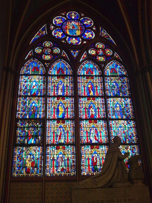 Витражи Нотр-дам де Пари/ Notre Dame de Paris