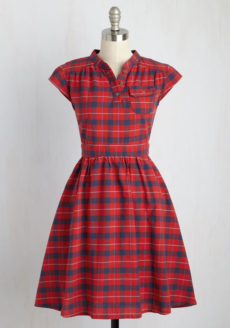 Your Plucky Day Dress, #ModCloth