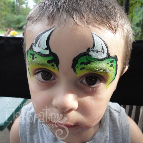 boy face painting - Google Search