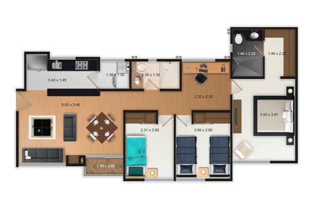 BAVIERA RESERVADO - 78.18 m2