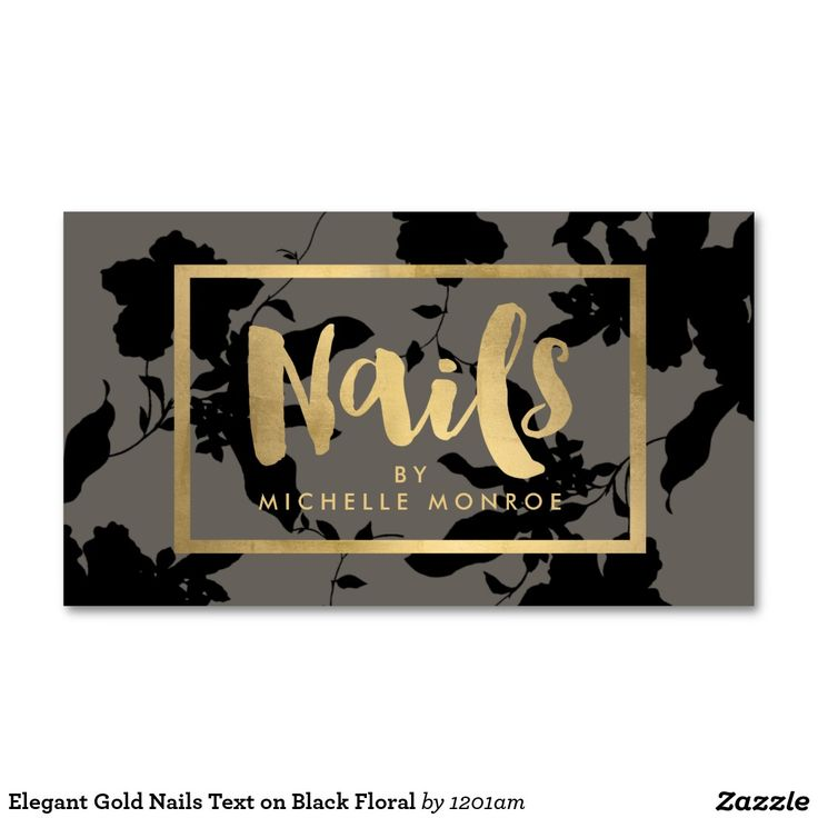 11 best Business Cards for Nail Salons images on Pinterest ...