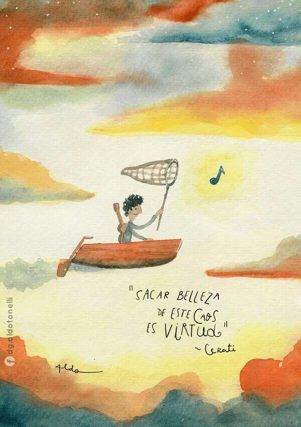 Sacar belleza... by #AldoTonelli