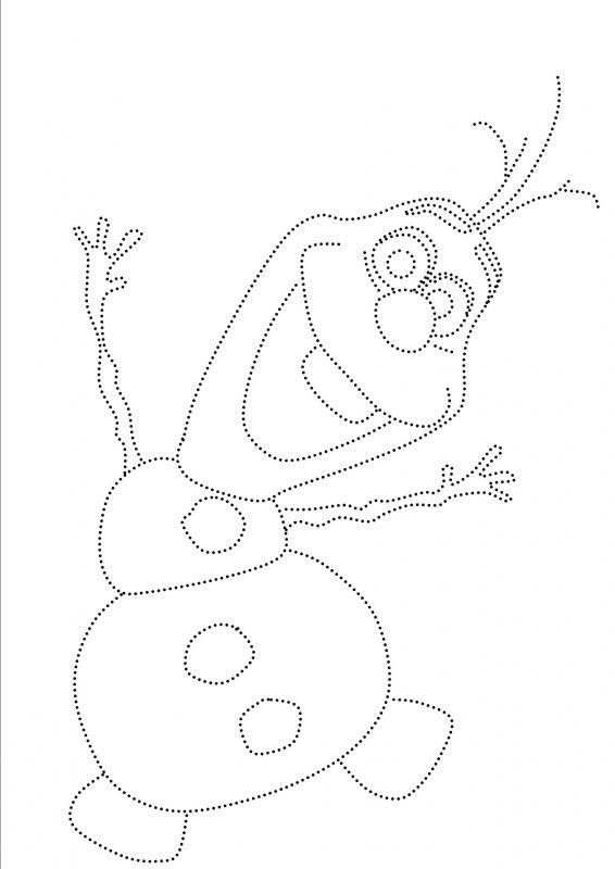 Olaf van Frozen Disney