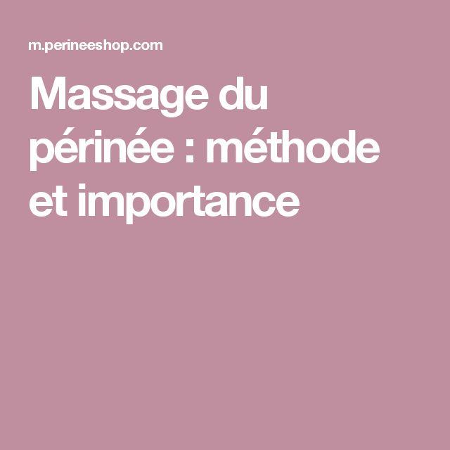 Massage du périnée : méthode et importance