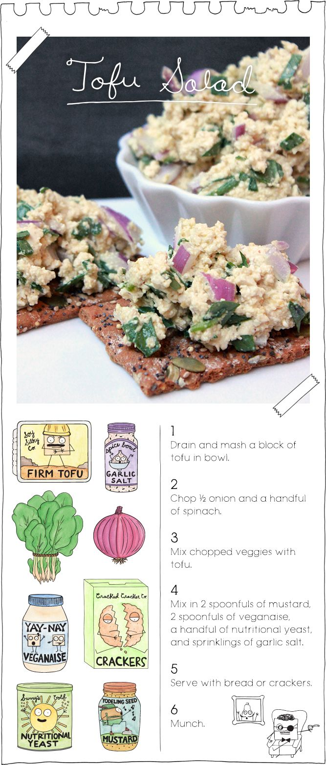 Tofu Salad                                                                                                                                                                                 More