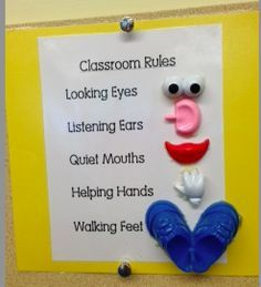 preschool classroom rules | also remind my students of our circle time rules before we begin and ...