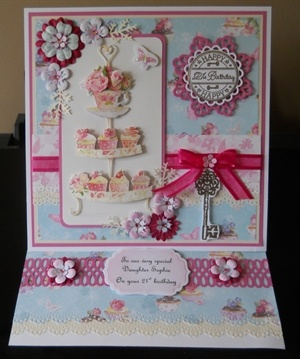 Lucy Cromwell Easel Card